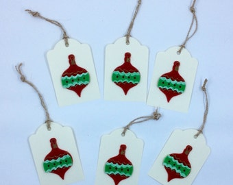 Holiday Ornament Gift Tags