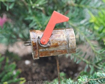 Mailbox Pick for Miniature Garden, Fairy Garden