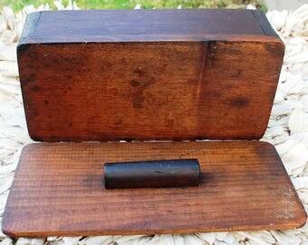 Rural NY Primative Wood Box