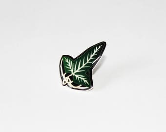 Leaf of lorien PIN - The lord of the rings, tolkien, the hobbit, pin collector, Galadriel, fellowship of the ring, frodo, bilbo, gandalf