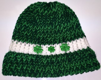 St. Patrick's Day green beanie #3