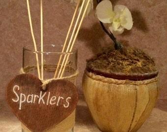 Wedding Sparkler Holder