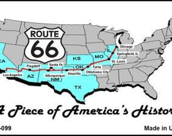 Route 66 A piece of history Magnet