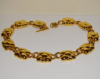 "Anne Klein Gold Tone Custom 18"" Necklace."