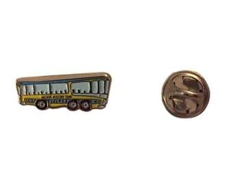 The Beatles Magical Mystery Tour Bus Enamel Metal Mini Lapel Pin Costume Accessory