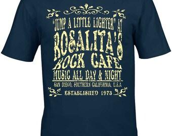 Bruce Springsteen T-Shirt Homage - Charlie Tokyo Original Design Rosalita's Rock Cafe 100% Unofficial