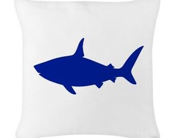 Shark Applique, Fabric Iron On Shark Applique, Home Decor Shark Pillow,  Shark T