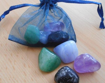 Balancing Crystals - Set of 4 Balancing Healing Crystals