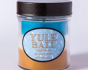 Yule Ball - Layered Soy Candle