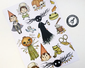 Sticker Pack  Over the Garden Wall - cool vinyl stickers