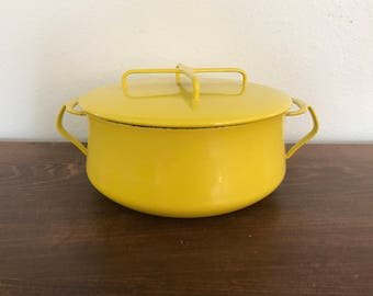 Dansk Large Yellow Pot