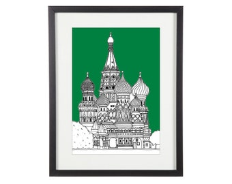 Architectural Print Etsy