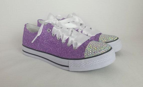 Lavender Converse Shoes