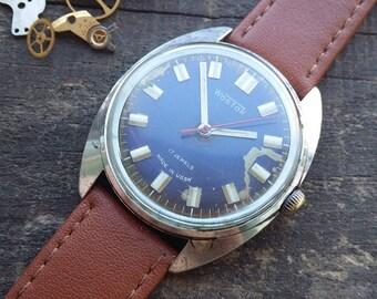 Brutal olden time. Mechanical watch Wostok,Vostok watch Vintage  Vostok Wostok watch Vintahe men's watch USSR watch for men