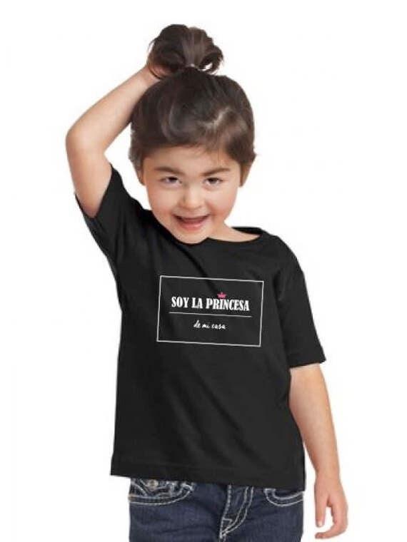 Girl t-shirt SOY LA PRINCESA de mi casa
