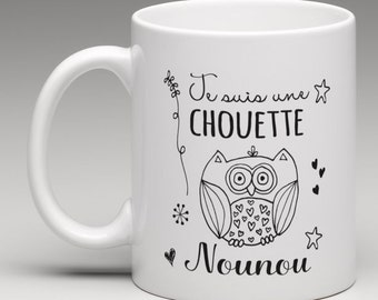 Personalized mug gift for a great nanny
