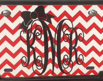 License plate- car plate- monogrammed license plate-personalized license plate.