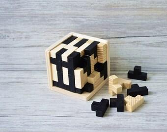 3D Puzzles,Wooden educational puzzle, Children toys, Wooden Puzzle cubes,  Еducation toys, Wooden toys,  Puzzle for Children