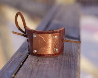 Leather Hair Tie - Horse Gifts - Horse Lover Gifts - Gift for Horse Lover - Cowgirl Gift - Gift for Cowgirl - Horse Jewelry - Hair Bun Cuff