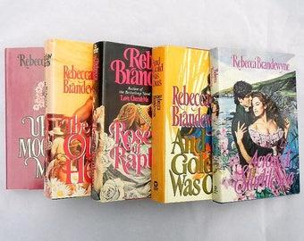 Rebecca Brandewyne Five Hardcover Vintage Romance Novels