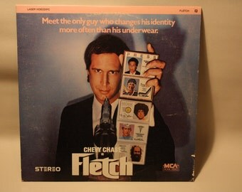 "Vintage Laserdisc Movie ""Fletch"""
