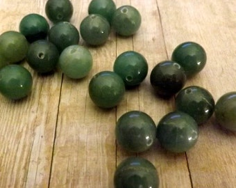 20pcs 13mm / Natural Gemstone Round Loose Beads Jewelry Making Finding