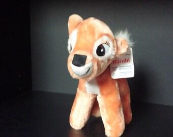 Vintage Walt Disney Bambi Plush Toy