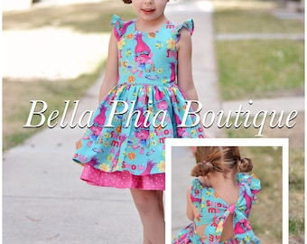 Trolls Swallowtail Dress