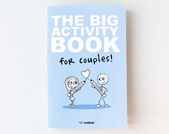 The Big Activity Book for Couples - Play some fun games, activities, puzzles, fill-in-the-blanks, and quizzes with your partner.