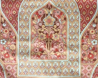 Pat Albeck vintage fabric Osman Furnishings over 4 metres Pink Minaret Iconic Designer