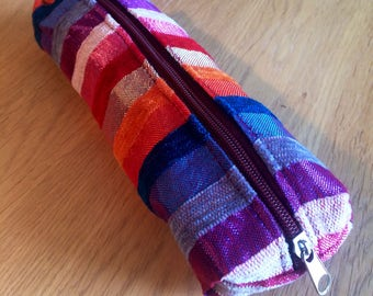 Lovely handmade  Moroccan pencil case/makeup bag