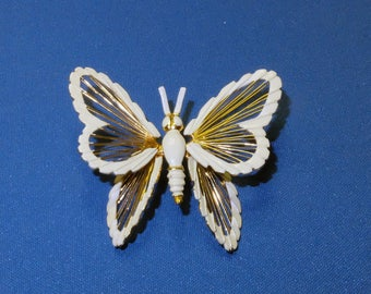 Vintage Monet Butterfly Pin