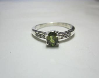 natural tourmaline and natural diamond ring ,diamond ring,tourmaline ring,WOOW
