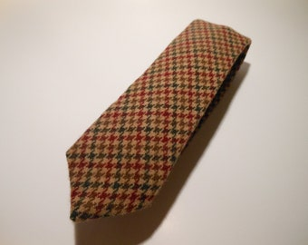 Thick Tweed Wool Necktie