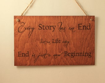 Wood Wall Art Quotes signs with quotes   etsy