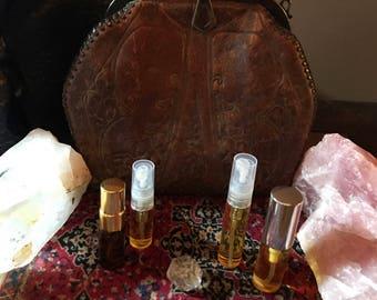 Perfume, Ubique No. 9, Feminine Jasmine and Amber Botanical Perfume, Jasmine and Amber Composition for Women, 3mL EDP Spray