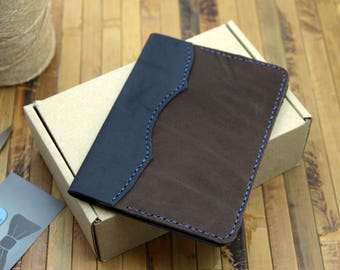 Leather passport cover, passport cover, passport holder, Passport case