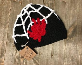 Boys spider cap