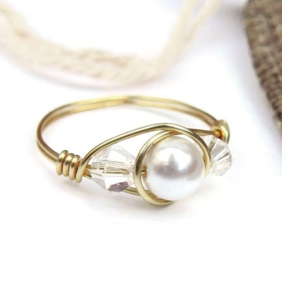 Purity Ring For Girls Pearl Chastity Rings Sweet 16 Ring