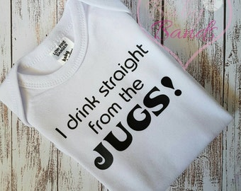 I drink straight from the jugs! top/romper