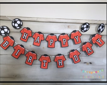 Soccer Birthday Party, Soccer Themed Party, Sports Party Decorations, Soccer Party Decorations, Soccer Party Birthday Banner