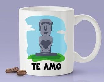 I Love You - Chile [Gift Idea For Him or Her - Makes A Fun Present] Te Amo - Chilean Love Mug