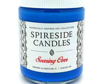 Soaring Over ® Candle - Spireside Candles - Disney Candles - 8 oz Jar