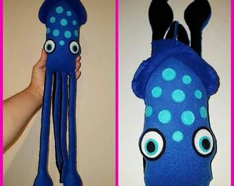 Blue Spotted Squid Plush Kraken Plush Toy Finding Dory
