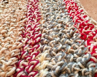 Bits and Pieces Infinity Scarf: Rustic