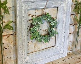 Old Picture Frame, Vintage Frame, Vintage Ornate Frame, Antique Picture Frame, Farmhouse Florals,