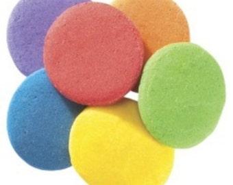 Bright Jumbo Round Quins - Edible Cupcake & Cake Sprinkles - 2.6 oz