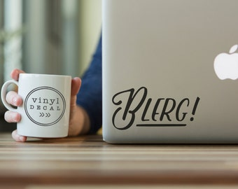 Blerg! - Vinyl Decal | Liz Lemon + 30 Rock