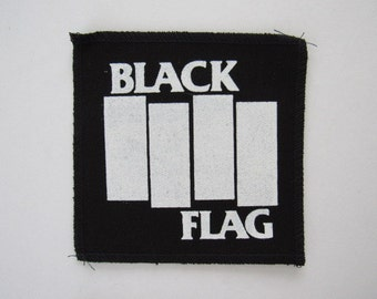 Black Flag Stiched/Embroidered Patches 4 To Choose From Free Same Day Shipping In The USA