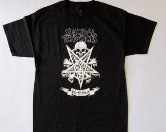 Suicidal Tendencies Possessed Black Shirt Free Same Day Shipping With A Tracking Number